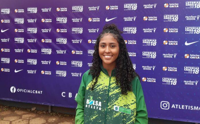Jovem atleta de Três Lagoas é a 6ª colocada em Campeonato Brasileiro Loterias Caixa Sub-18 de Atletismo