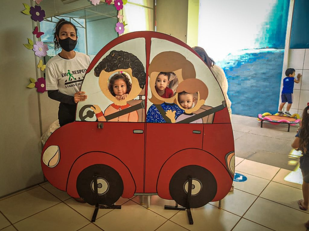 Diretoria de Trânsito promove Campanha Educativa na CEI Clementina Carrato
