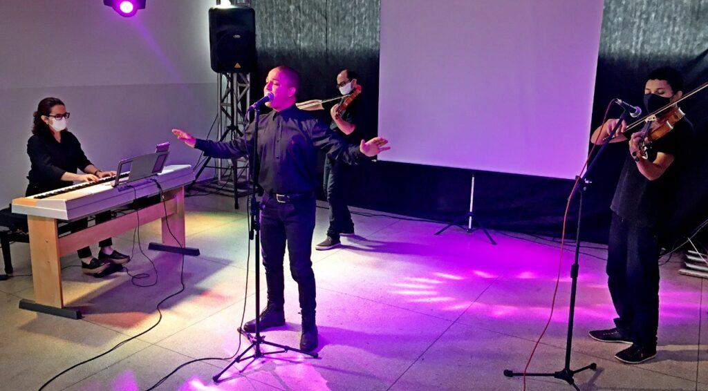 Diretoria de Cultura continua missão de levar música a instituições de TL