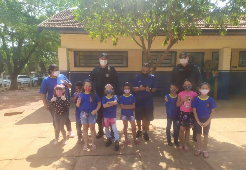 Polícia Militar realiza mais de 150 visitas nas escolas durante o policiamento escolar no Vale do Ivinhema