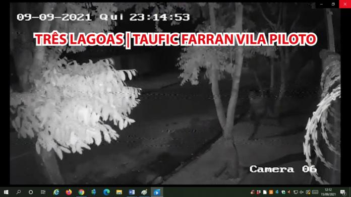 Saci do crime furta equipamento de segurança na Vila Piloto e foge pulando
