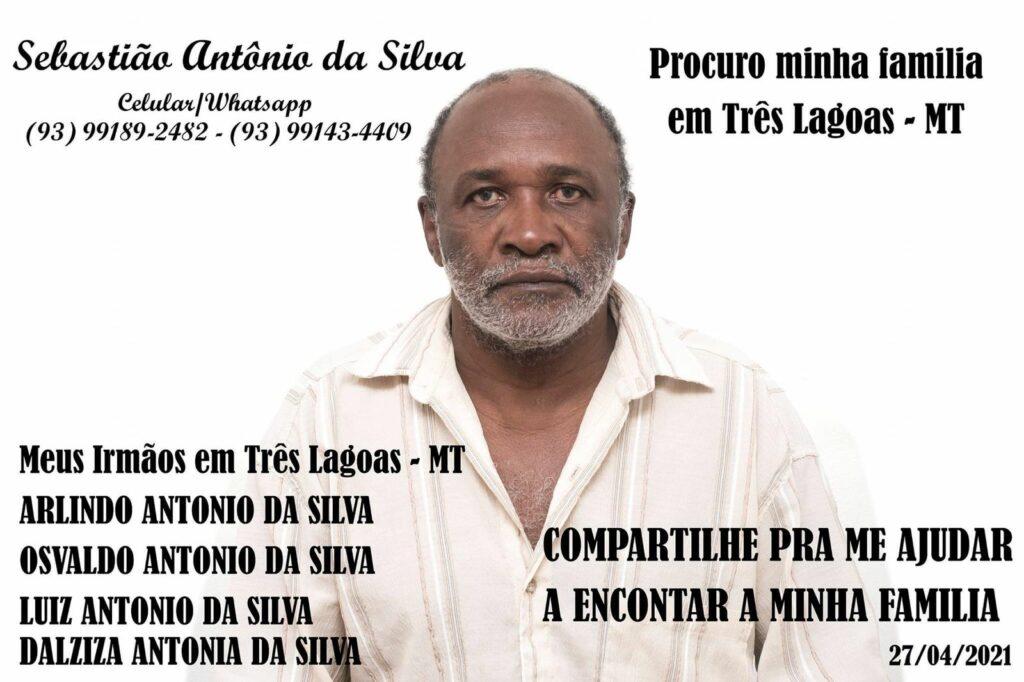 Sebastião procura família que vive em Arapuá e não encontra há 52 anos