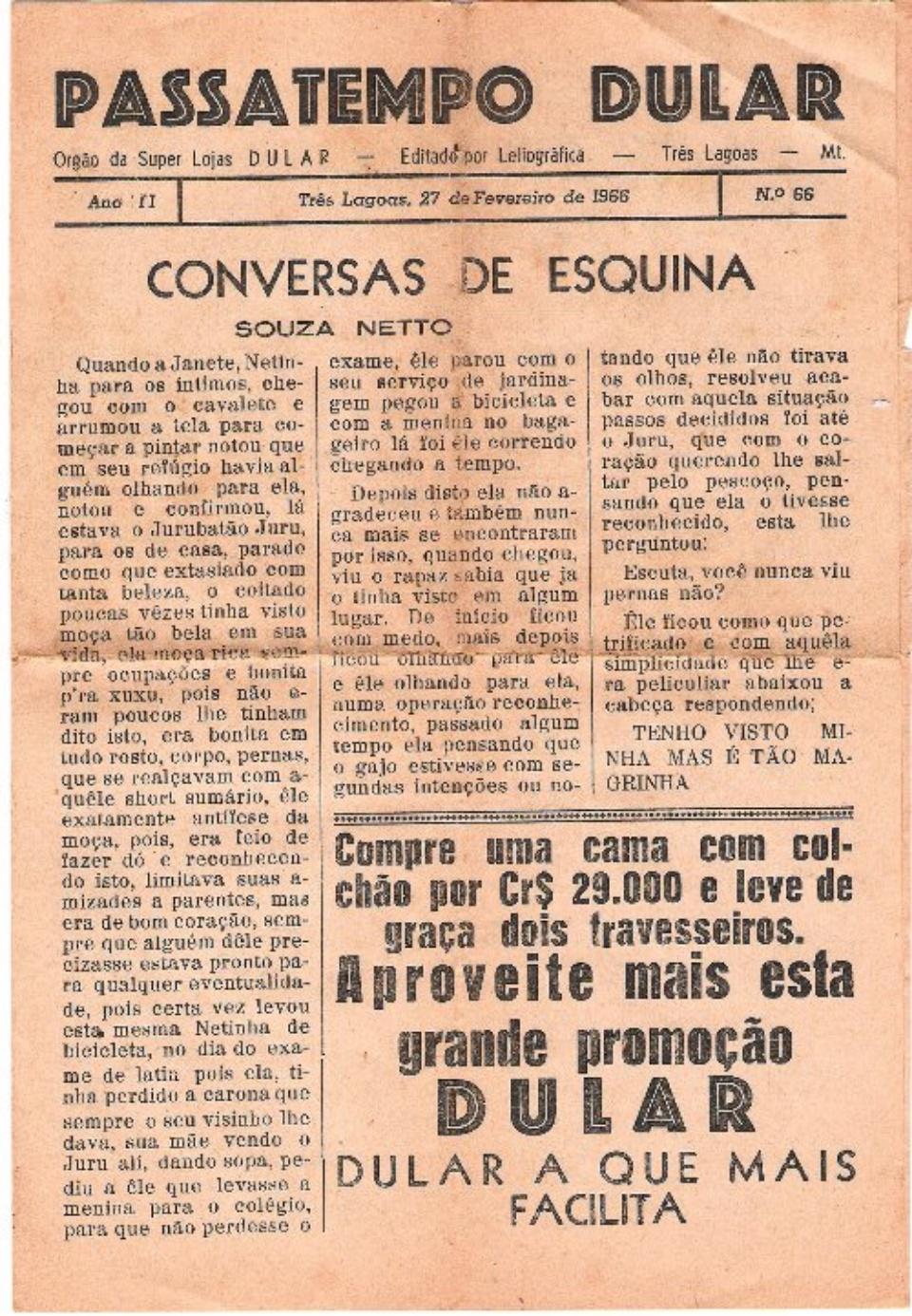 03. PASSATEMPO DULAR - 06.06.1965 a 27.02.1966