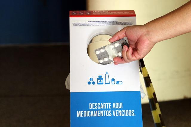 Saúde e Meio Ambiente coletam mais de 190 quilos de medicamentos