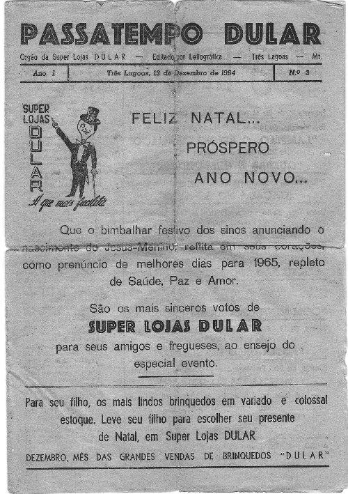 Capa da primeira edição em 13.12.1964