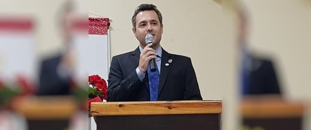 Daniel Hidalgo Dantas novo Presidente do Rotary Club de Três Lagoas. Foto: Rotary Club de Três Lagoas.