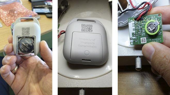 Cingapura cria aparelho para rastrear coronavirus - mostra Daniel Homem de Carvalho