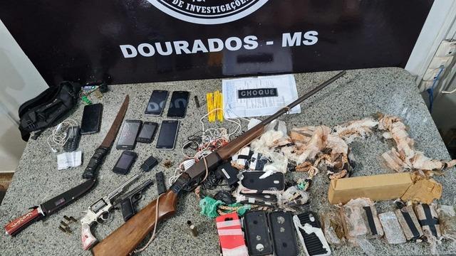 Polícia vai até cidade de MS e mata 2 bandidos ao ser recebida a tiros